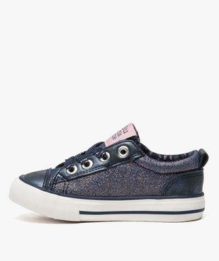 Baskets fille avec paillettes et étoiles - LuluCastagnette vue3 - LULU CASTAGNETT - Nikesneakers