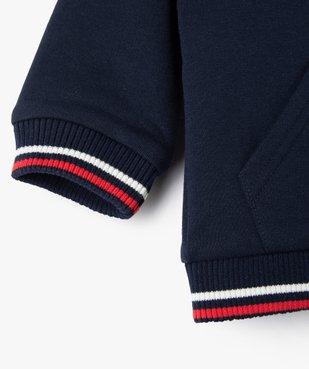 Sweat bébé garçon zippé à capuche – Lulu Castagnette vue4 - LULUCASTAGNETTE - Nikesneakers