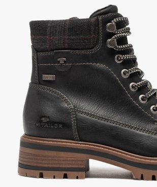 Boots femme à semelle crantée – Tom Tailor vue6 - TOM TAILOR - GEMO