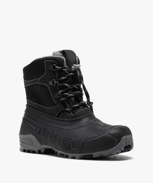 Après-skis homme style chaussures de montagne à lacets vue2 - GEMO (EQUIPT) - GEMO