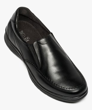Mocassins homme confort unis à enfiler vue5 - ZEN AIR - Nikesneakers