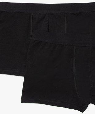 Boxer homme uni en coton biologique (lot de 2) - Grande Taille vue2 - Nikesneakers C4G HOMME - Nikesneakers