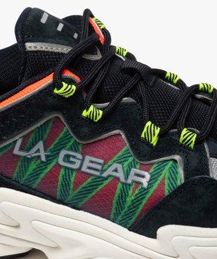 Baskets homme running détails fluo – LA Gear vue6 - L.A. GEAR - GEMO