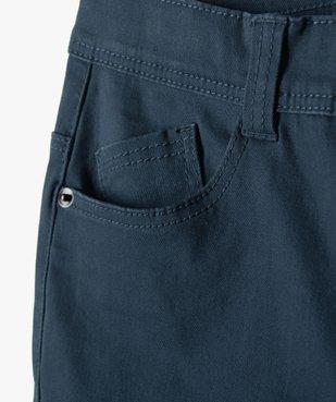 Pantalon garçon coupe skinny en toile extensible vue3 - Nikesneakers (JUNIOR) - Nikesneakers