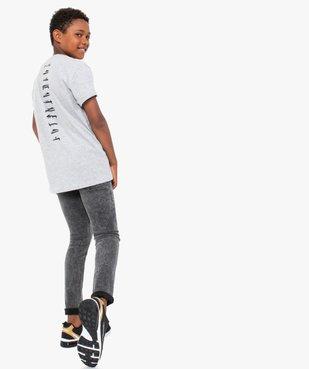 Tee-shirt garçon à manches courtes avec motif XXL – Star Wars vue5 - THE MANDALORIAN - GEMO