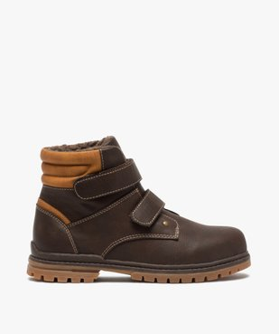 Boots garçon à scratch avec doublure et col rembourrés vue1 - Nikesneakers (ENFANT) - Nikesneakers