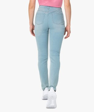 Jean femme slim taille normale stretch vue3 - GEMO (JEAN) - GEMO