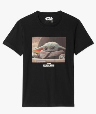 Tee-shirt homme imprimé Mandalorian - Star Wars vue4 - THE MANDALORIAN - GEMO