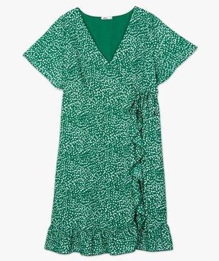 Robe de grossesse imprimée forme portefeuille  vue4 - GEMO (MATER) - GEMO