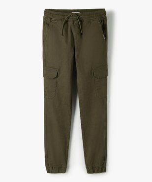 Pantalon garçon coupe cargo vue1 - GEMO (ENFANT) - GEMO
