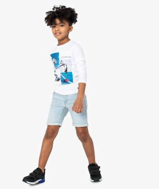 Tee-shirt garçon à motifs sportifs – Lulu Castagnette vue4 - LULUCASTAGNETTE - GEMO