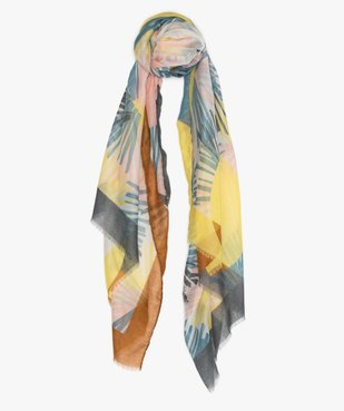 Foulard femme à franges vue1 - Nikesneakers (ACCESS) - Nikesneakers