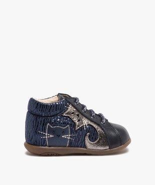 Chaussures premiers pas bébé avec motifs chats - Bopy vue1 - BOPY - Nikesneakers