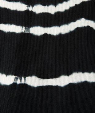 Robe fille moulante en maille côtelée vue3 - GEMO (JUNIOR) - GEMO