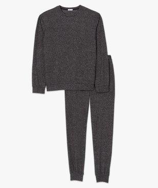 Pyjama homme en maille douillette vue4 - GEMO(HOMWR HOM) - GEMO