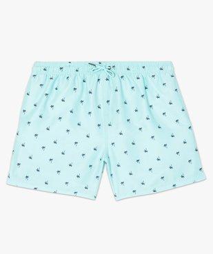 Short de bain homme à petits motifs palmiers vue4 - GEMO (PLAGE) - GEMO
