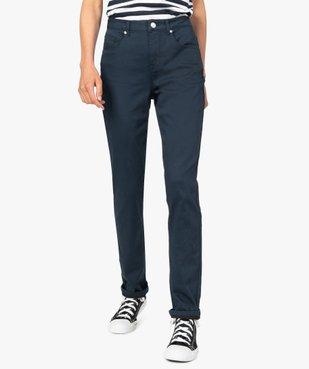 Pantalon femme coupe Regular en stretch vue1 - GEMO(FEMME PAP) - GEMO