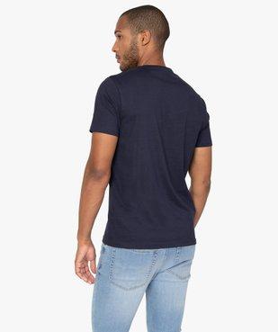 Tee-shirt homme à manches courtes à message humoristique vue3 - GEMO (HOMME) - GEMO
