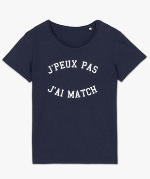 Tee-shirt femme à manches courtes imprimé football vue4 - Nikesneakers(FEMME PAP) - Nikesneakers