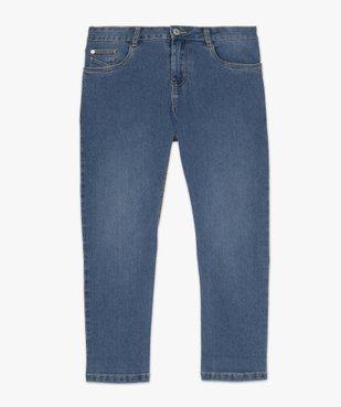 Pantacourt femme en jean extensible vue4 - GEMO C4G FEMME - GEMO