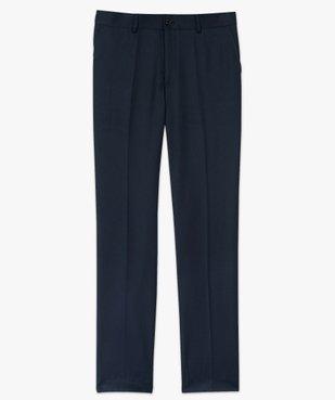 Pantalon de costume homme coupe ajustée vue4 - GEMO (HOMME) - GEMO