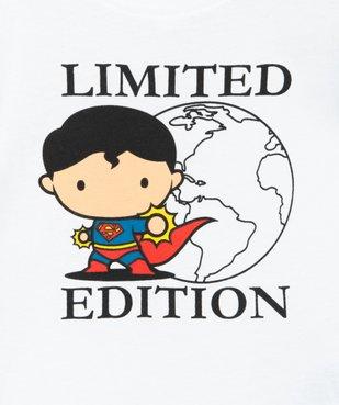 Tee-shirt bébé garçon à manches courtes - Justice League imprimé Superman vue2 - DC COMICS - GEMO