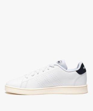 Baskets femme unies à lacets – Adidas Advantage K vue3 - ADIDAS - GEMO