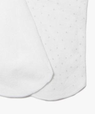 Collants fille semi-opaques fantaisie (lot de 2) vue2 - GEMO (ENFANT) - GEMO