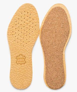 Semelles confort en cuir sur liège vue1 - Nikesneakers(ENTRETIEN) - Nikesneakers