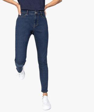 Jean femme coupe Slim 5 poches vue1 - GEMO C4G FEMME - GEMO