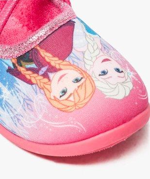 Chaussons fille avec motifs et paillettes La Reine des neiges - Disney vue6 - REINE DES NEIGE - GEMO
