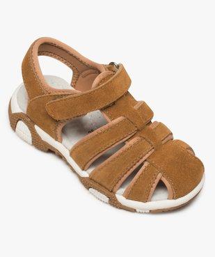 Sandales garçon unies à bout fermé vue5 - Nikesneakers (ENFANT) - Nikesneakers