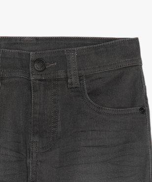 Jean garçon ultra skinny stretch avec plis aux hanches vue3 - GEMO (JUNIOR) - GEMO
