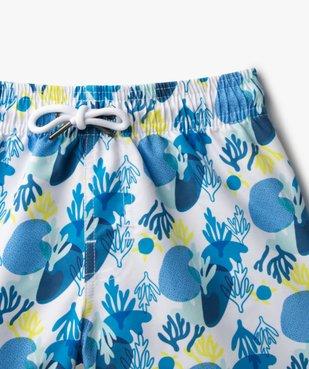 Short de bain garçon à motifs marins vue2 - GEMO (ENFANT) - GEMO