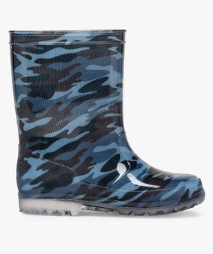 Bottes de pluie garçon motif camouflage vue1 - GEMO (ENFANT) - GEMO