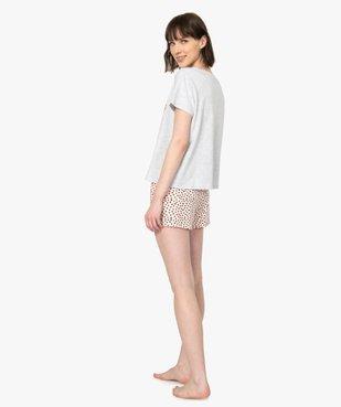 Pyjashort femme La petite Sirène - Disney vue3 - DISNEY DTR - GEMO