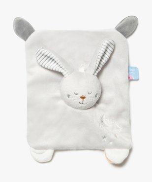 Doudou bébé taille mini avec tête de lapin – Sucre d'Orge vue2 - SUCRE D'ORGE - GEMO