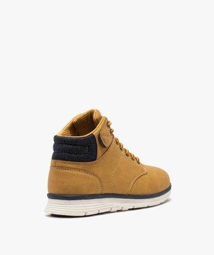 Boots garçon à col rembourré et lacets bicolores vue4 - Nikesneakers (ENFANT) - Nikesneakers