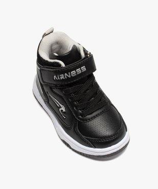 Baskets bébé semi-montantes à scratch - Airness Vito vue5 - AIRNESS - Nikesneakers