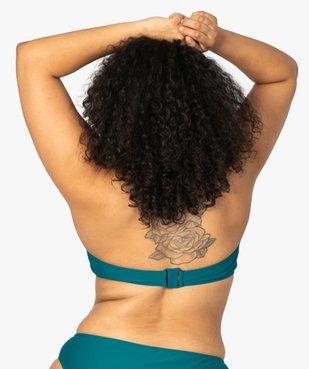 Haut de maillot de bain femme triangle à armatures vue2 - GEMO (PLAGE) - GEMO