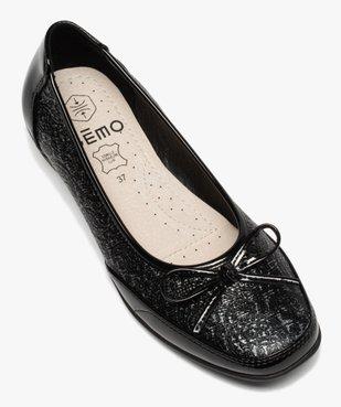 Ballerines femme à détails vernis et semelle intérieure cuir vue5 - Nikesneakers(URBAIN) - Nikesneakers