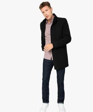 Chemise homme à motifs colorés coupe slim vue5 - GEMO (HOMME) - GEMO
