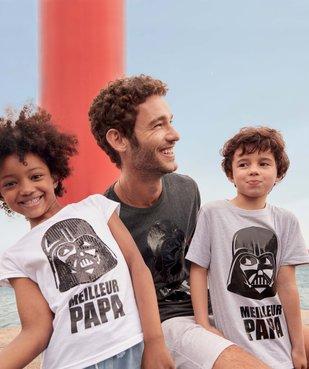 Tee-shirt fille motif brillant Dark Vador - Star Wars vue6 - STAR WARS - GEMO