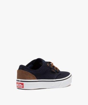 Baskets garçon skateshoes en toile - Vans Atwood vue4 - VANS - GEMO