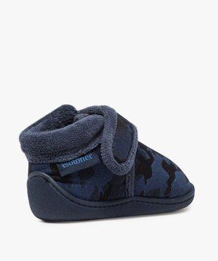 Chaussons bébé avec col en polaire – Isotoner vue4 - ISOTONER - GEMO