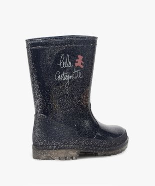 Bottes de pluie fille pailletées – LuluCastagnette vue4 - LULU CASTAGNETT - Nikesneakers