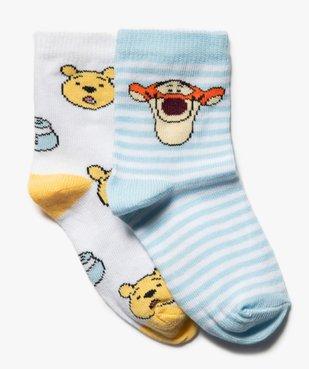 Chaussettes bébé fille Winnie l'ourson (lot de 2) - Disney vue1 - DISNEY DTR - GEMO