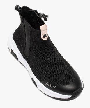 Baskets fille en forme de chaussettes - LuluCastagnette  vue5 - LULU CASTAGNETT - Nikesneakers