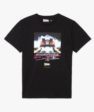 Tee-shirt homme à manches courtes imprimé - Retour vers le futur vue4 - NBCUNIVERSAL - GEMO