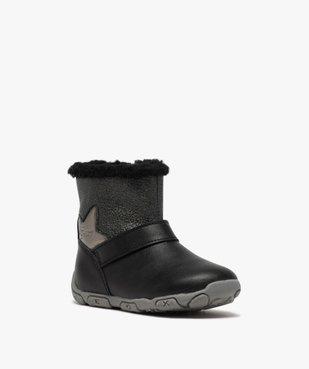 Boots bébé fille zippées fourrées sherpa – Geox vue2 - GEOX - GEMO